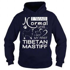 I Love  my first Tibetan Mastiff  T shirt
