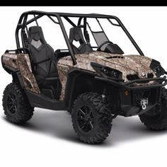This will be mine too. :))   Can Am Commander 1000 XT