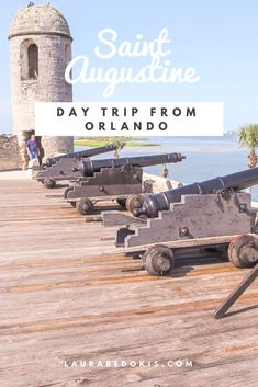 Day trip to St Augustine from Orlando, FL. What I did and saw while I was there including a fort, downtown St Augustine and more! South Usa, Florida Oranges, Orlando Travel, Day Trip, Travel Usa, South Carolina, Tennessee, Virginia, Saints
