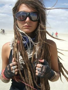 Picture this: Burning Man. 2000. (love Sophia lol)