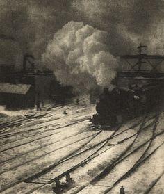 Alfred Steiglitz. 'New York Central Yard' 1910  ~Repinned Via Darra Williamson