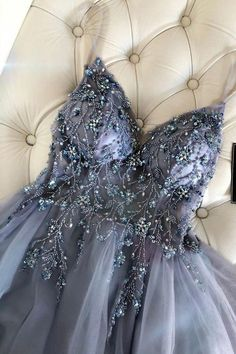 You will slay all in the misty blue long prom dress Source by dreamdressyoffical fancy dresses Pretty Prom Dresses, Hoco Dresses, Homecoming Dresses, Prom Gowns, Grey Prom Dress, Formal Prom Dresses, A Line Dress Formal, Graduation Dresses Long, Stunning Prom Dresses