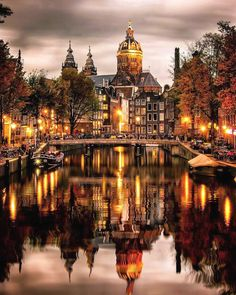 Amsterdam city of lights @_enk