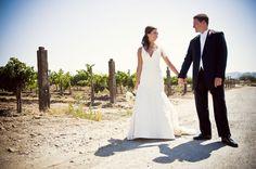 Sunny Disposition: vineyard wedding #TresWedding