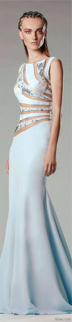 Rouba. G Spring 2016 RTW women fashion outfit clothing style apparel @roressclothes closet ideas