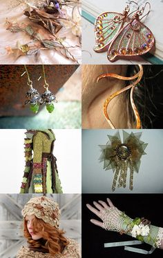 magical woodland fairy adornment :)