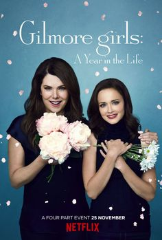 #NetflixAndBlanket: Gilmore Girls. A year in the life.