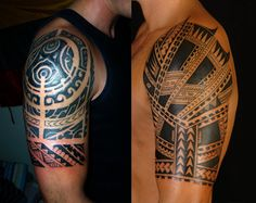 Polynesian Tattoo Designs, Ideas & Meaning Polynesian tattoo designs are actually an umbrella term for all tattoos that use design patterns, symbols and meanings from the Polynesian Triangle