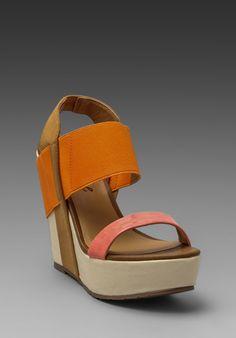 cd96e45e3b6ba Matisse Barbary Wedge in Orange Orange Wedges