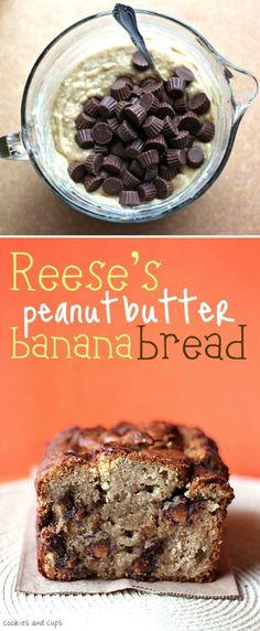 Reese's Peanut Butter Banana Bread | Recipe By Photo