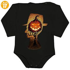 Man With Hat Ready For Halloween Baby Romper Long Sleeve Bodysuit XX-Large - Baby bodys baby einteiler baby stampler (*Partner-Link)