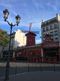 Moulin rouge Paris mon éte 2016