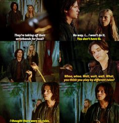 """Lol Finn way to throw that line back in their faces. """"I thought there were no rules"""""""