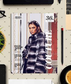 Couture - Multipurpose Creative Layout Magazine — InDesign INDD #creatives #professional • Available here → https://graphicriver.net/item/couture-multipurpose-creative-layout-magazine/13382689?ref=pxcr