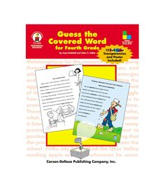 """Introduce this cross-checking reading strategy from the Four-Blocks® Literacy Model. Includes teacher instructions; 12 transparencies; 24 reproducible Guess the Covered Word lessons in language arts, math, science, social studies, and general themes; a 21"""" x 15"""" poster; an assessment or record keeping chart; student recognition charts; and more. Supports the Four-Blocks® Literacy Model."""