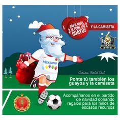 #PapaNoelSePoneLosGuayos #PapaNoelSePoneLaCamiseta Artistas Fútbol Club #FutbolConSentidoSocial  Artistas Fútbol Club Fundacion