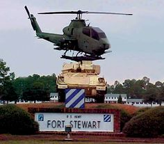 Fort Stewart, yet to visit our son serving in the military there! want to go!