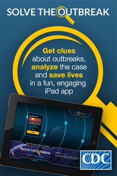CDC's iPad app to solve outbreaks