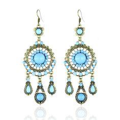 7 USD Drop Earrings, Accessories, Jewelry, Fashion, Jewlery, Moda, Jewels, La Mode, Jewerly