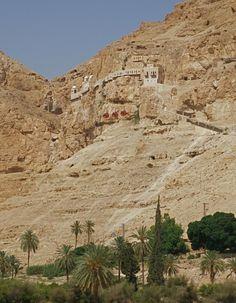 Mount of Temptation, Judaean desert