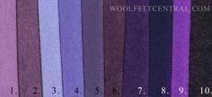 Wool Blend Felt Central - Wool Blend Felt 12x18 pieces