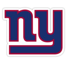 NY giants! Sticker