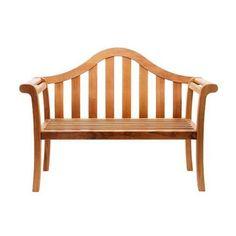 Amazon.com : Achla Designs Camelback 53 in. Garden Bench : Outdoor Benches : Patio, Lawn & Garden