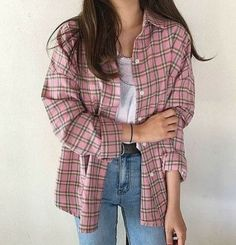 🥳bustier outfit,addidas outfit,beauty emails,plad o.- Source by clothes Rain Day Outfits, Plad Outfits, Flannel Outfits, Retro Outfits, Korean Outfits, Vintage Outfits, Casual Outfits, 80s Fashion, Look Fashion