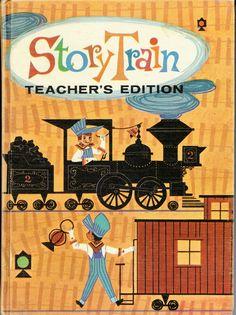 https://flic.kr/p/cTPzVu | Story Train | Early 60's Elementary School Reading Book