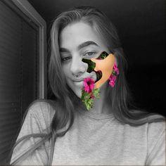 #photoshop #face #effect #flowers #manipulation Photoshop Face, Graphics, Flowers, Art, Craft Art, Graphic Design, Floral, Kunst, Gcse Art