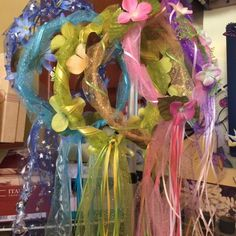 fairy crowns by flutterwng on Etsy Fairy Birthday Party, Birthday Party Themes, Birthday Crowns, Fairy Crown, Flower Crown, Fairy Headpiece Diy, Crown For Kids, Medieval Party, Fairy Tea Parties