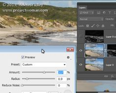 "How to Sharpen Image Edges in Photoshop. ""Once you have finished processing your image in Photoshop, flatten the image to a single layer or make a..."" A Post By: Helen Bradley. http://digital-photography-school.com/how-to-sharpen-image-edges-in-photoshop"