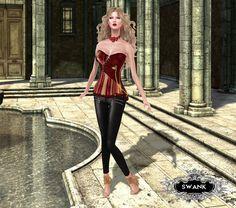 https://flic.kr/p/MgKJ6C | September Swank : Glitter Pose - ISA D ORABLE-CREATIONS - Virtual Diva - | Credits: