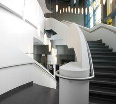 LEMAYMICHAUD   Quebec   Architecture   Interior Design   Entertainement   LUDOPLEX Architecture Design, Quebec, Stairs, Interior Design, Home Decor, Living Room, Nest Design, Architecture Layout, Stairway