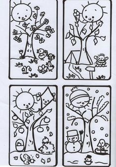 Centrum mail - 3 nepřečtené zprávy Science Worksheets, Tracing Worksheets, Seasons Of The Year, Four Seasons, Weather For Kids, Kids Education, Diy Paper, Bookmarks, Coloring Pages