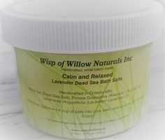 Wisp of Willow Naturals Dead Sea, Bath Salts, Natural Skin Care, Lavender, Nature, Bath Scrub, Naturaleza, Organic Skin Care, Natural