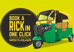 Ola Holi Free Ride Offer : Free Ola Auto Ride in Noida and Gurgaon