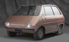 Ghia City Car, 1970-Haha, this is so cute!