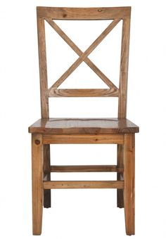 Safavieh Furniture AMH6506A-SET2 - A country favorite for generations, the classic styling of the Gavin Cross back side chair exudes the modern farmhouse style so popular across America toda