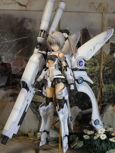 All about latest Kotobukiya Frame Arms new products, news and builders guide! Gundam Toys, Frame Arms Girl, Robot Girl, Cosplay Armor, Robot Concept Art, Anime Figurines, Ex Machina, Cyberpunk Art, Korean Art