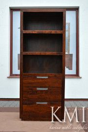 "biblioteczka ""SMILE"" FF-115 brown"