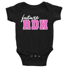 Future RDH infant short sleeve one-piece