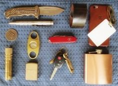 Everyday Carry - IL/Librarian - Librarian's Brass Carry