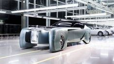 The Rolls Royce Vision Next 100 is the company's first ever pure concept, and presents a fully autonomous vehicle that for all intents and purposes is a rolling luxury living room that gives you no reason to ever want to leave. Rolls Royce Phantom, Rolls Royce Concept, Cadillac, New Rolls Royce, Volvo S90, Online Shops, Self Driving, Private Jet, Ford Gt