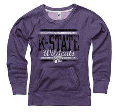 @Leslie JonesKansas State Wildcats Women's Boundary Ring Spun Scoopneck Sweatshirt $42.99 http://www.fansedge.com/Kansas-State-Wildcats-Womens-Boundary-Ring-Spun-Scoopneck-Sweatshirt-_1660468100_PD.html?social=pinterest_pfid42-62250