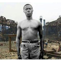 Sammy Baloji De la série Mémoires, Sans titre 17, 2006 Lubumbashi, Province de Katanga, 2005 République démocratique du Congo 80 x 152,57 cm (detail 2) #sammybaloji