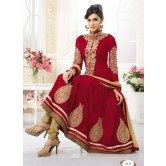 latest-maroon-fabulous-designer-anarkali-suits