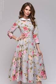 Resultado de imagem para платья с цветочным принтом
