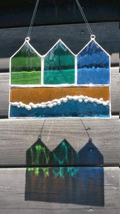 Geweldig glasramen strand hutten door de door StephenHarriesGlass