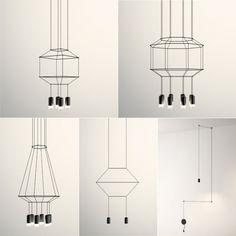Wireflow Pendant Lights by Arik Levy   moddea